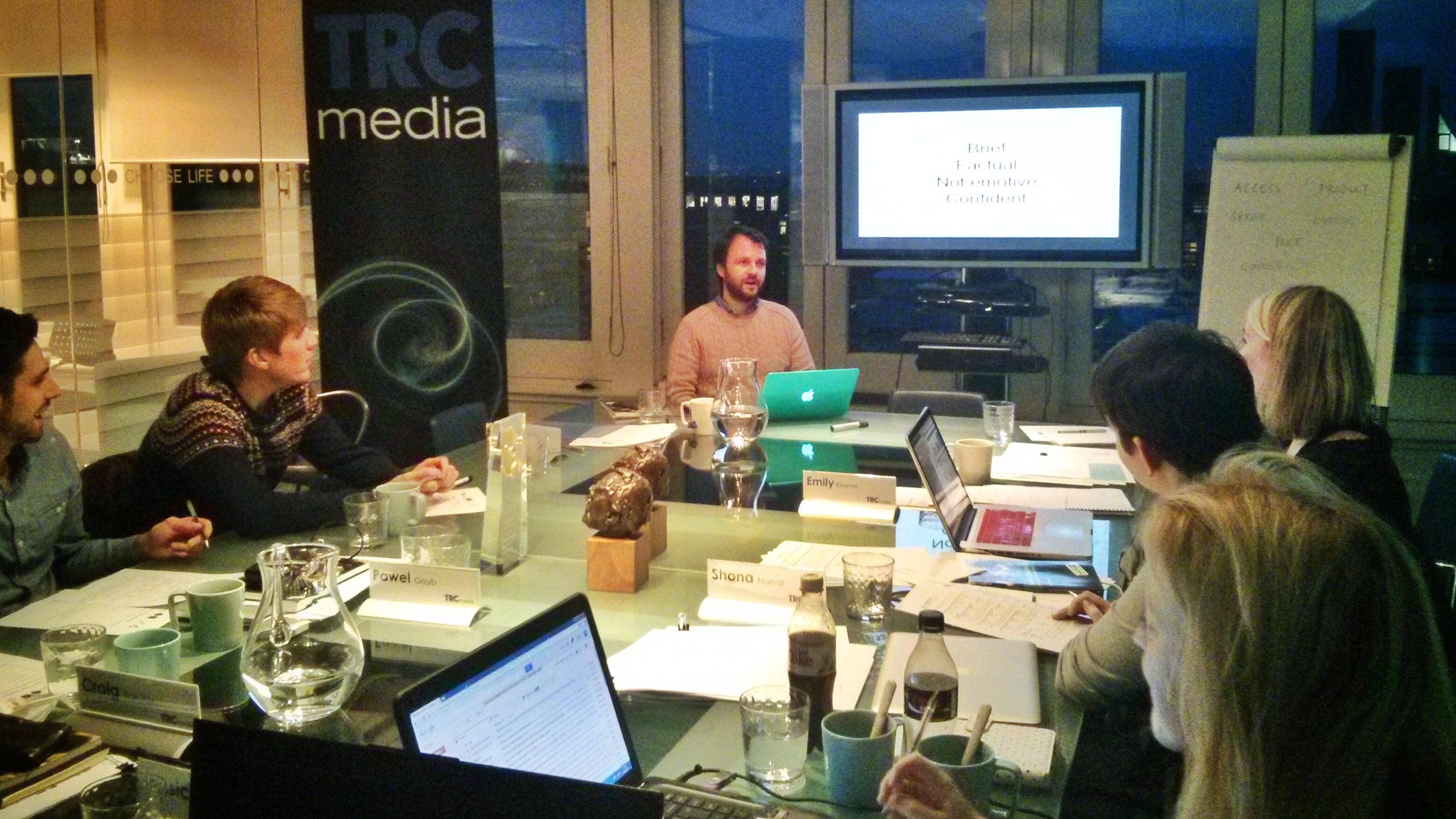media cv workshop